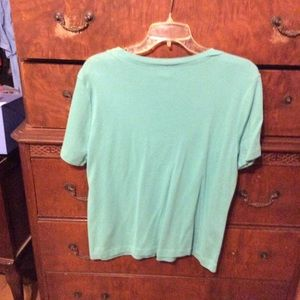 Tops - Venezia Teal Top. Size 14/16